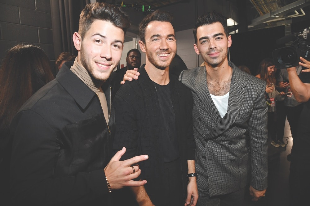 2019 MTV Video Music Awards, Jonas Brothers, Nick Jonas, Kevin Jonas, Joe Jonas