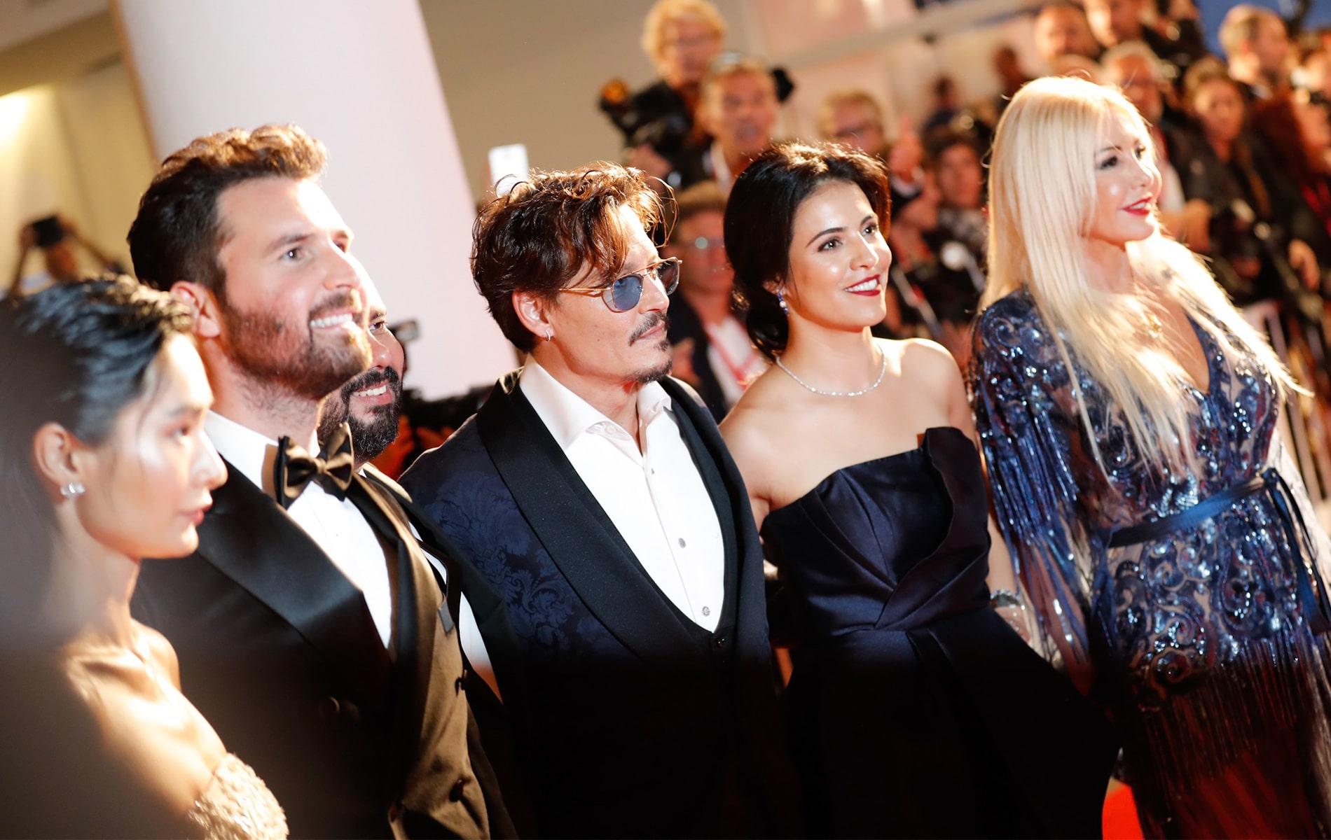 Venice Film Festival 2019, Johnny Depp, Olga Segura