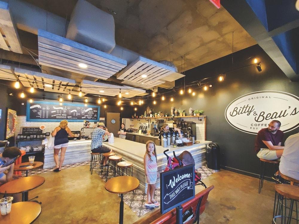 Inside Bitty & Beau's Charleston location