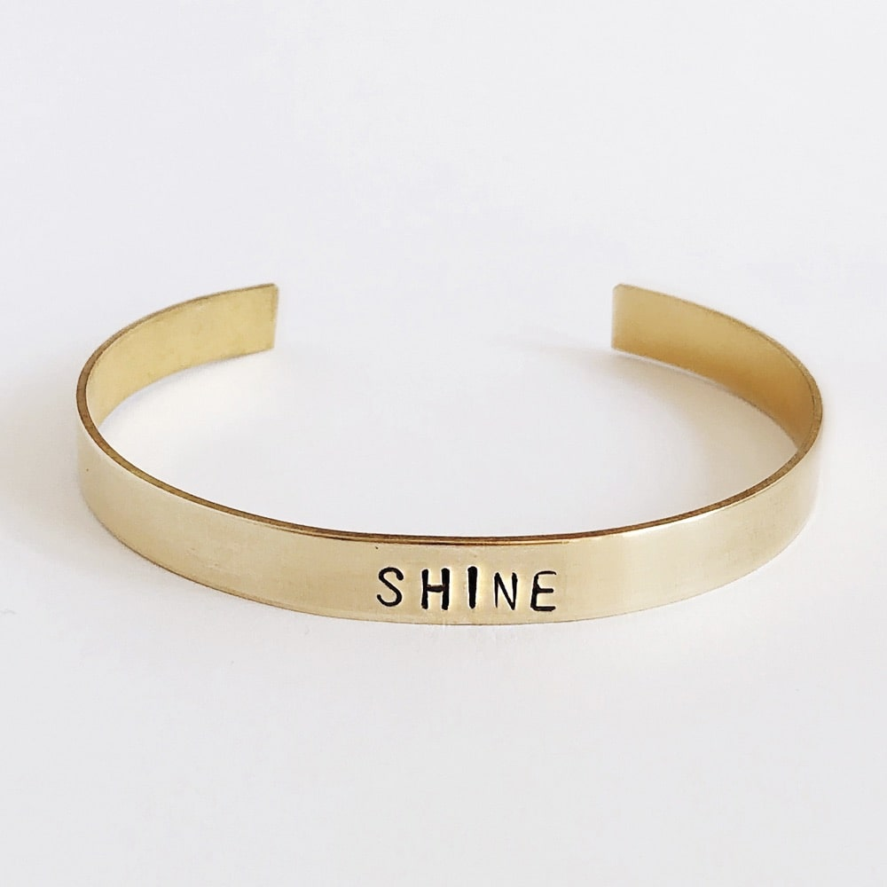 Sevenly Hand-Stamped Brass Cuffs for a Cause