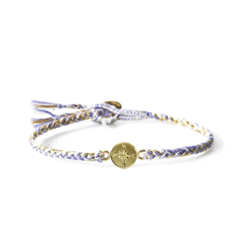 The Brave Collection Lilac Compass Bracelet
