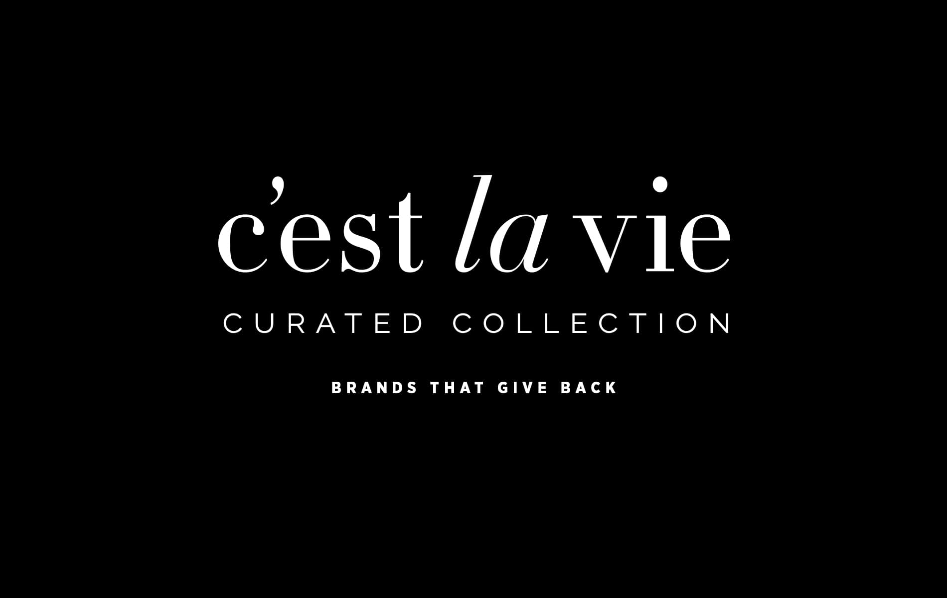 VIE Magazine C'est la VIE Curated Collection November 2019 Brands That Give Back