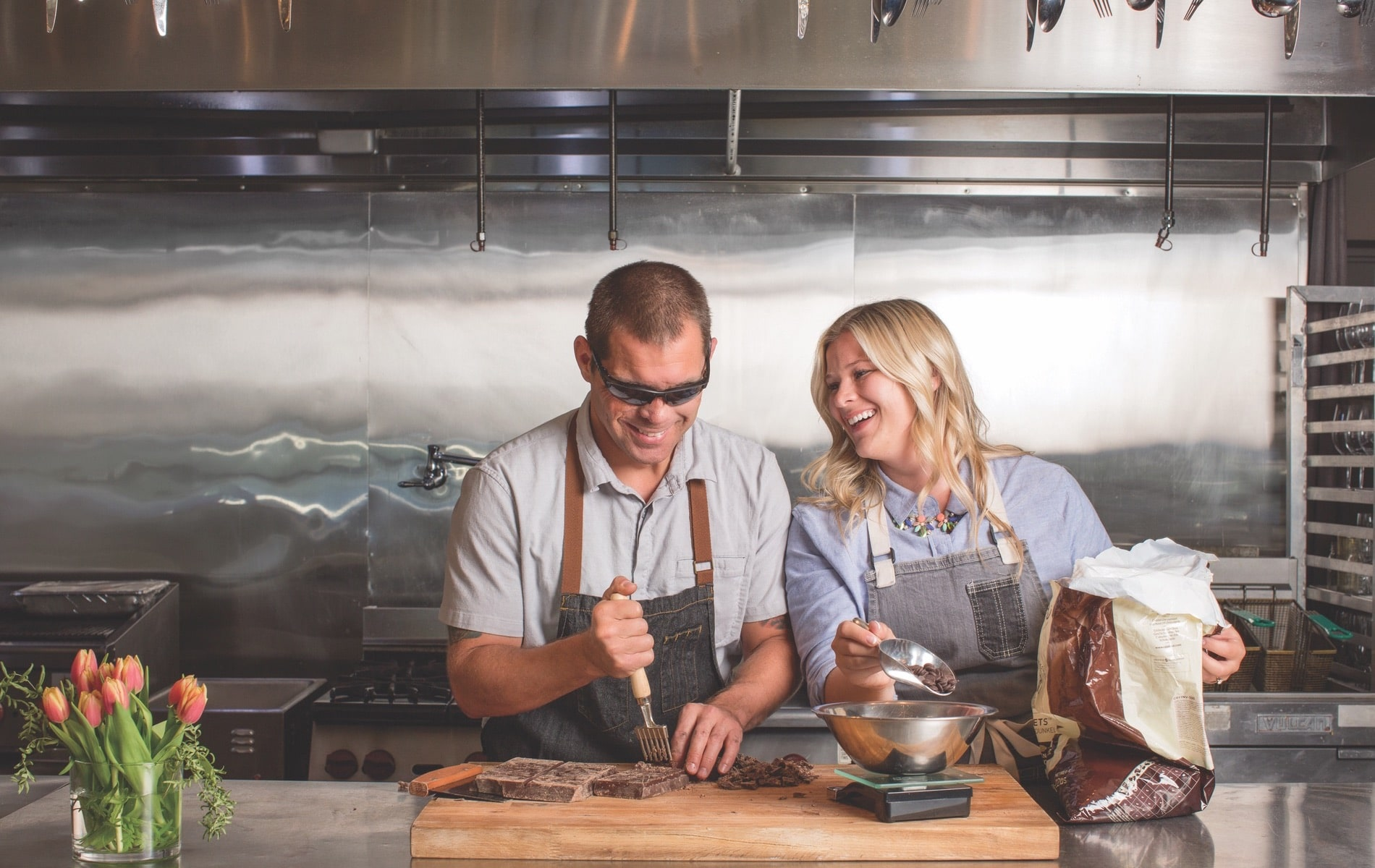 EOD Extra Ordinary Delights founders Aaron and McKayla Hale