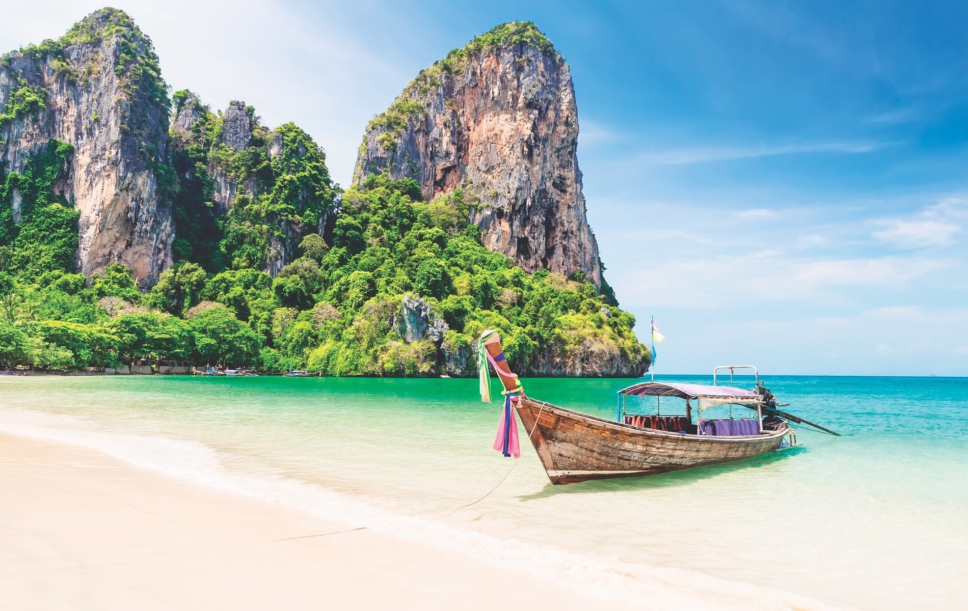 Krabi province in Thailand is one of our top picks for the most beautiful places in the world