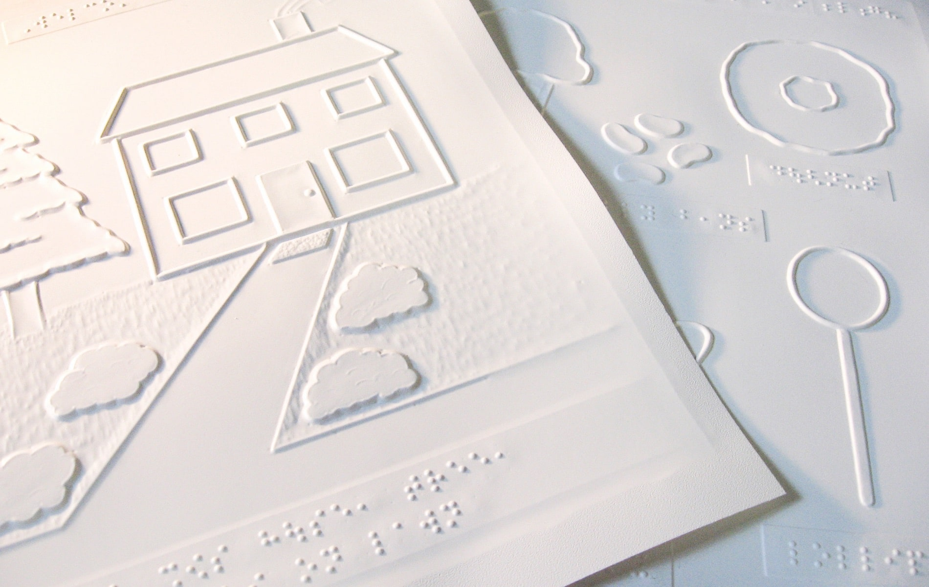 The National Braille Press, Nick Racheotes Column