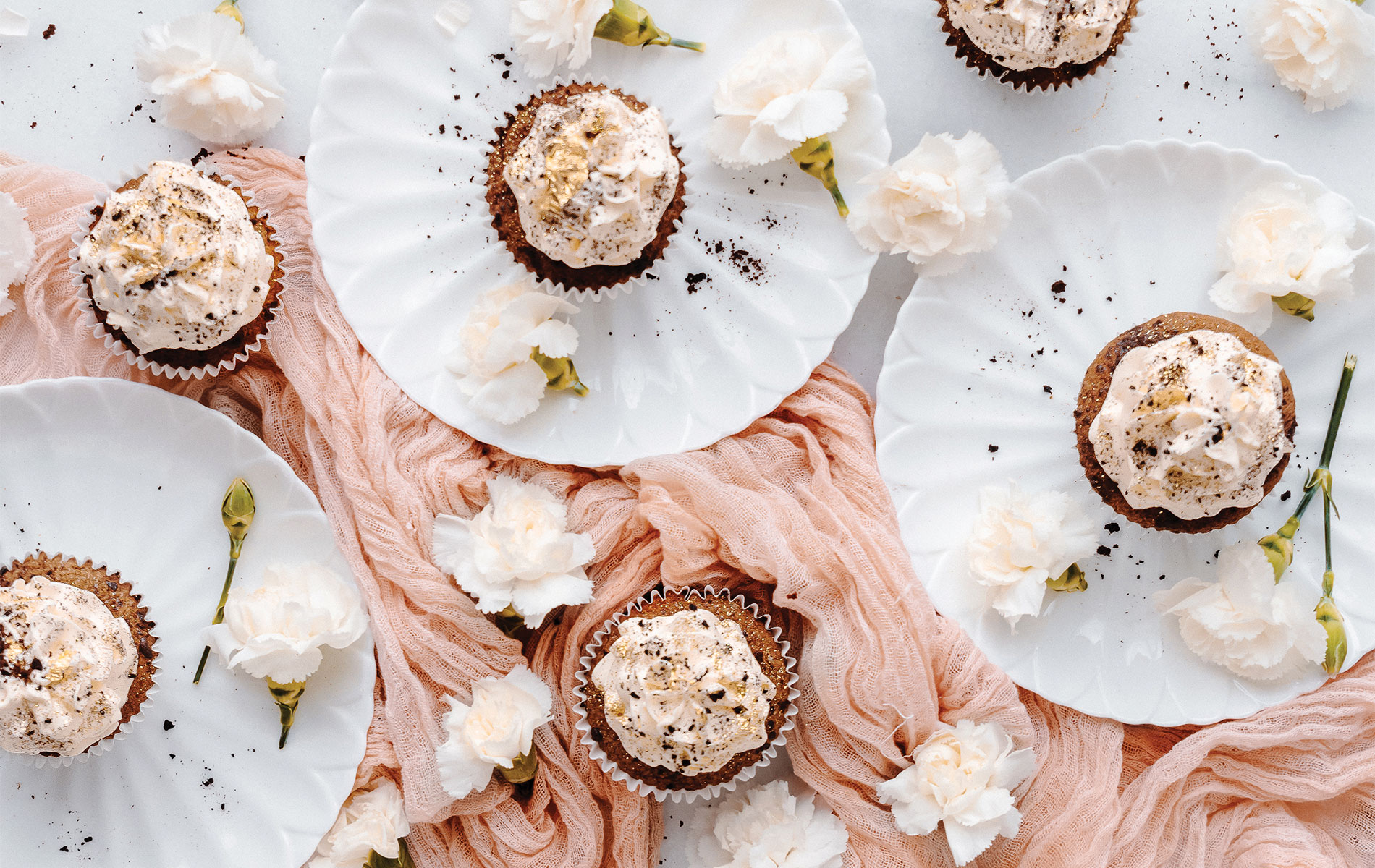 VIE Magazine Bon Appetit Department Page, Historias del Ciervo, Vanilla Latte Coffee Cupcakes