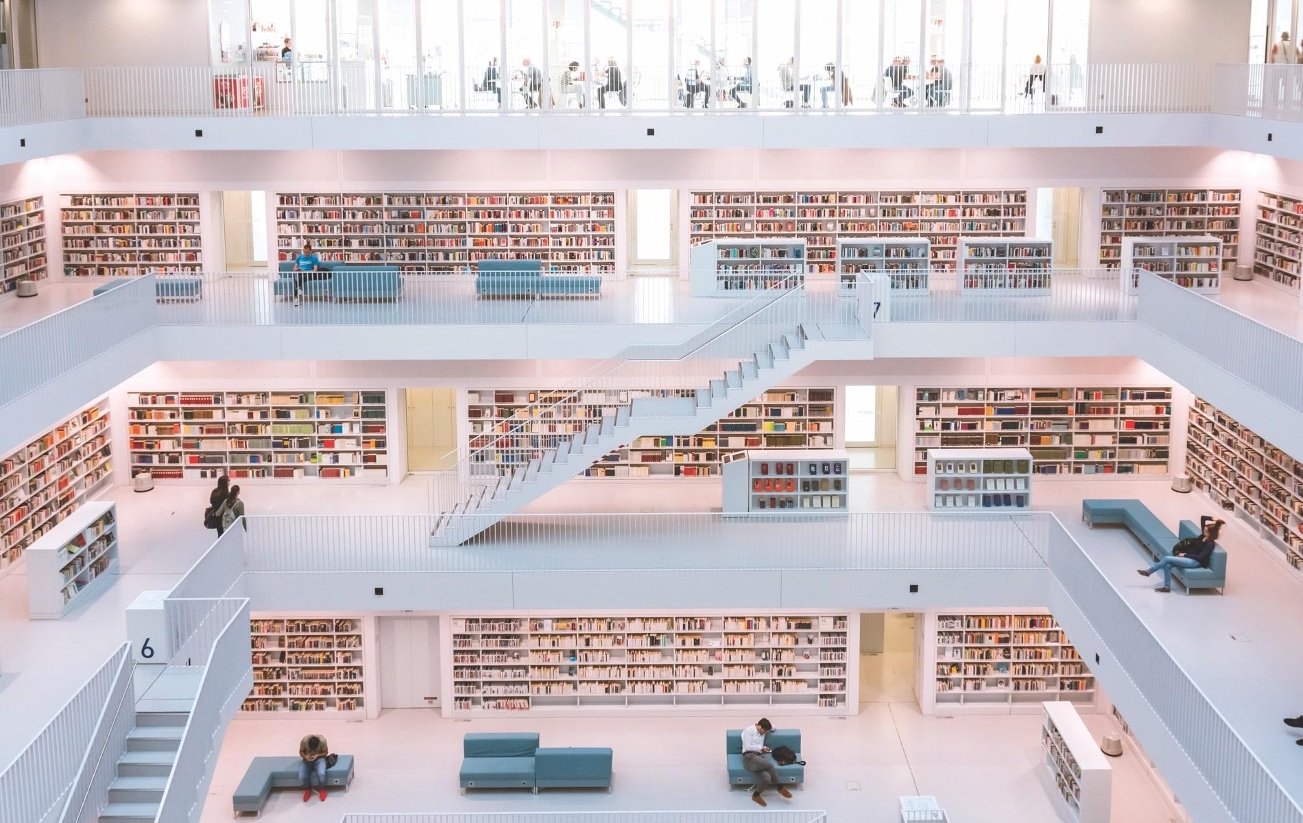 VIE Magazine, VIE Book Club The Readers Corner, Stadtbibliothek Stuttgart, Stuttgart Public Library