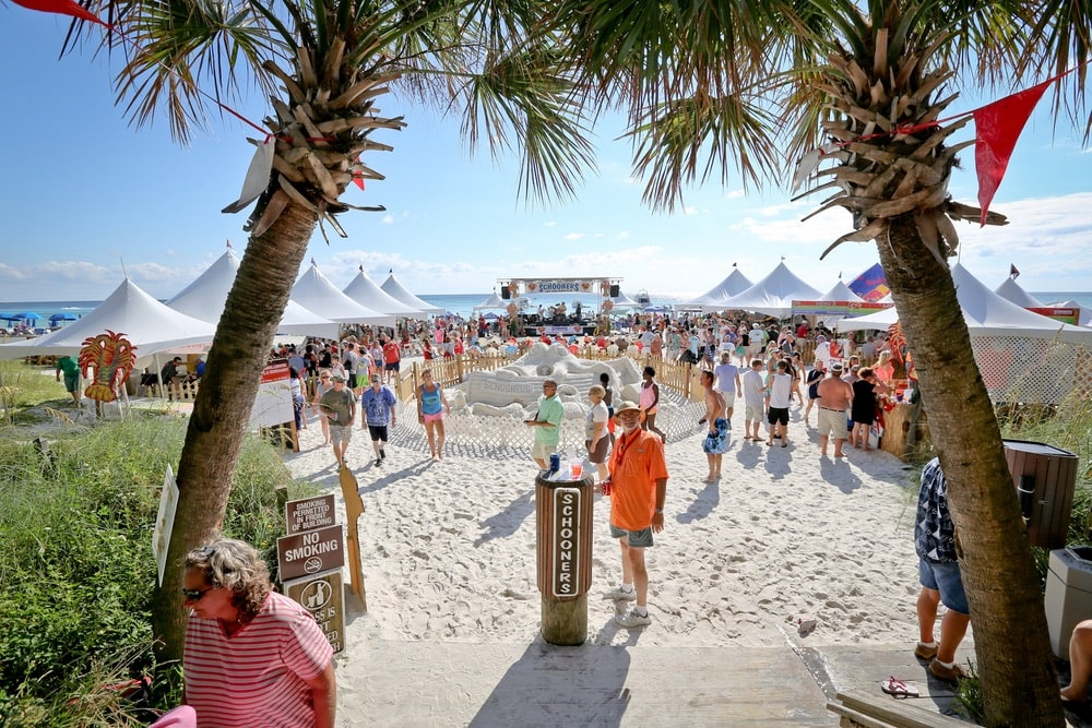 Schooners Last Local Beach Club, Lobster Festival and Tournament