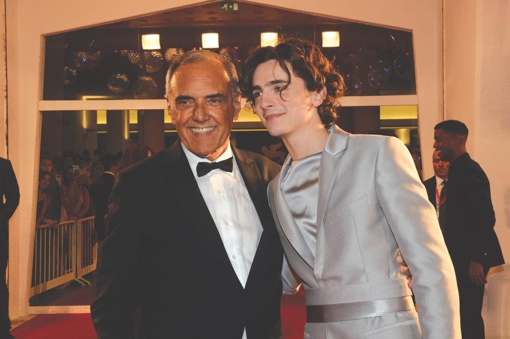 Venice Film Festival 2019, Alberto Barbera, Timothée Chalamet
