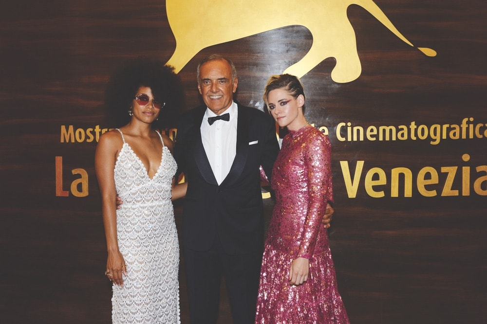 Venice Film Festival 2019, Zazie Beetz, Alberto Barbera, Kristen Stewart