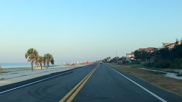 Highway 98 Mexico Beach Florida Reopened September 2019