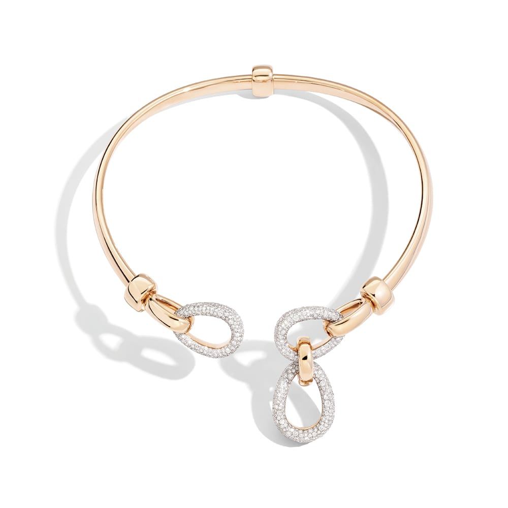 Pomellato Iconica Choker in Rose Gold with Diamonds