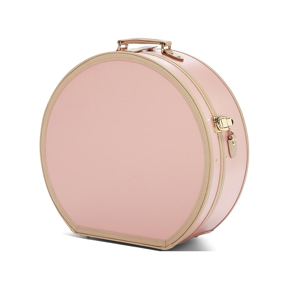 The Correspondent Pink Deluxe Hatbox, Steamline Luggage