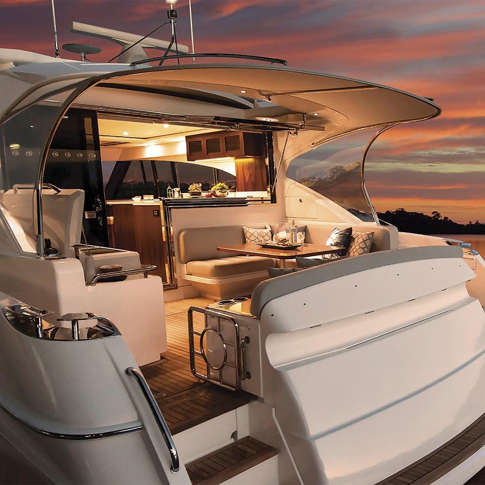2019 Riviera 5400 Sport Yacht, Legendary Marine, Legendary Marina