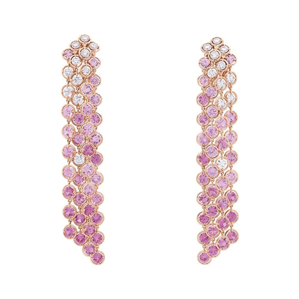 Van Cleef & Arpels Brume de Saphir Earrings