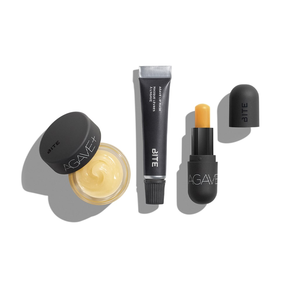 Bite Beauty All Agave Three-Piece Lip Care Set