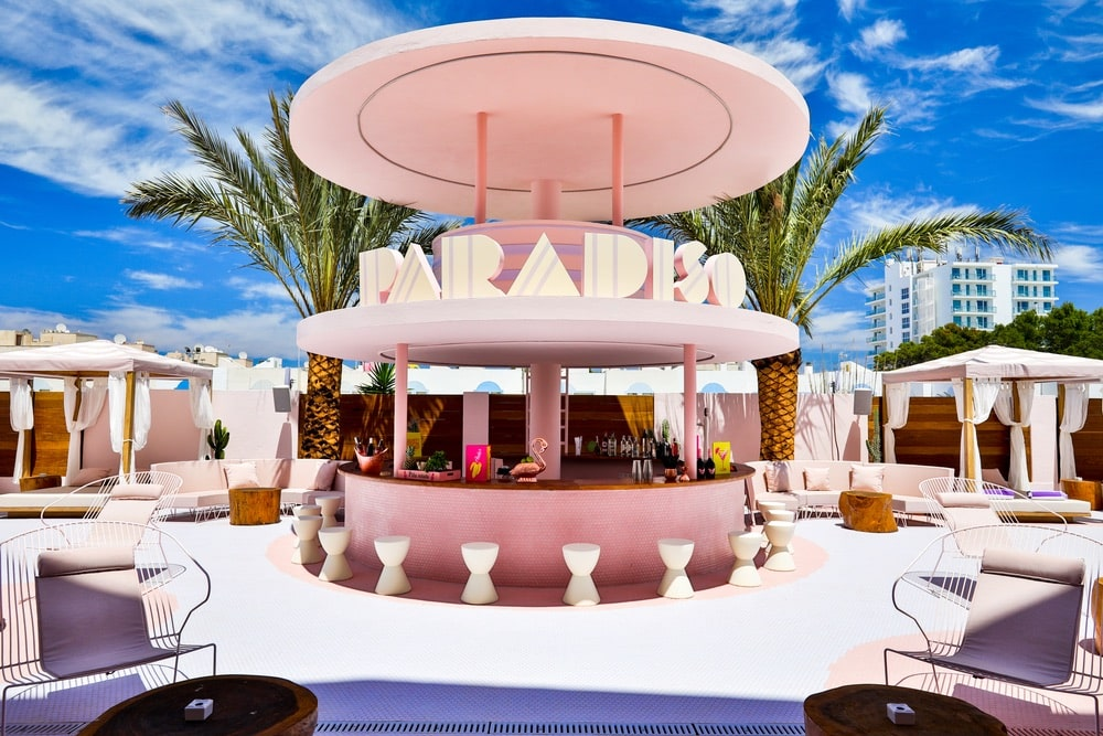 VIE Goes Pink, Pink Destinations Around the World, Breast Cancer Awareness Month, Paradiso Ibiza, Paradiso Art Hotel