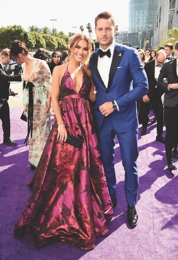 Chrishell Stause, Justin Hartley, Seventy-First Primetime Emmy Awards