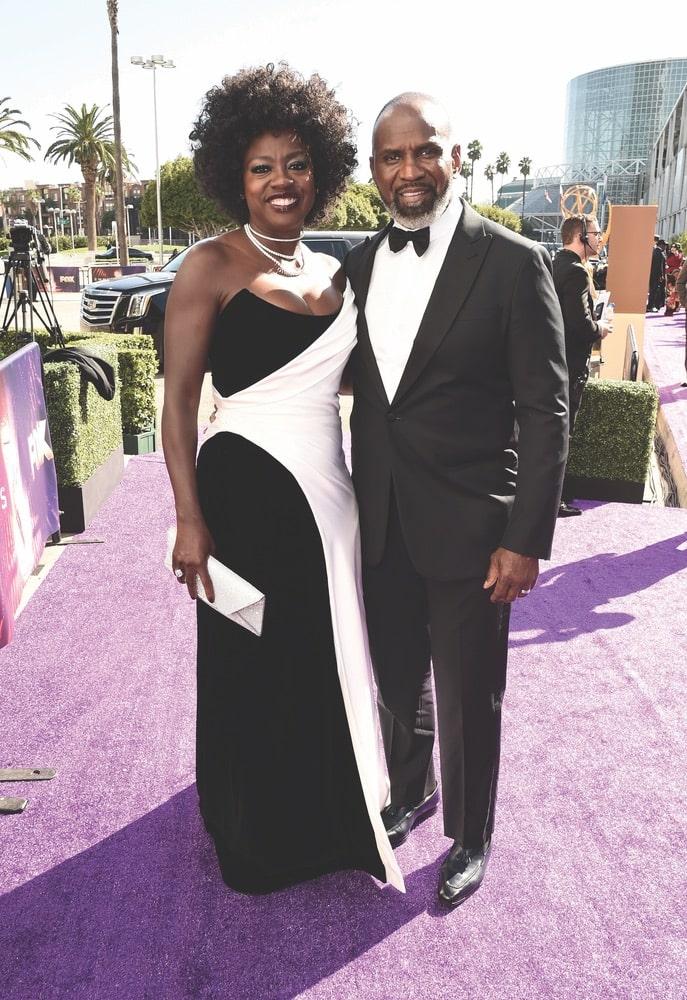 Viola Davis, Julius Tennon, Seventy-First Primetime Emmy Awards