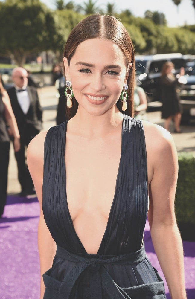 Emilia Clarke, Seventy-First Primetime Emmy Awards