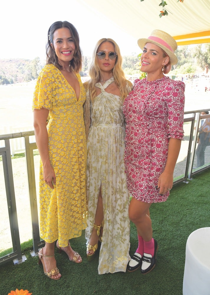 Mandy Moore, Rachel Zoe, Busy Philipps, Tenth Annual Veuve Clicquot Polo Classic Los Angeles