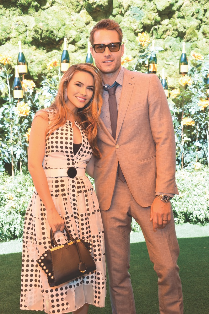 Chrishell Stause, Justin Hartley, Tenth Annual Veuve Clicquot Polo Classic Los Angeles