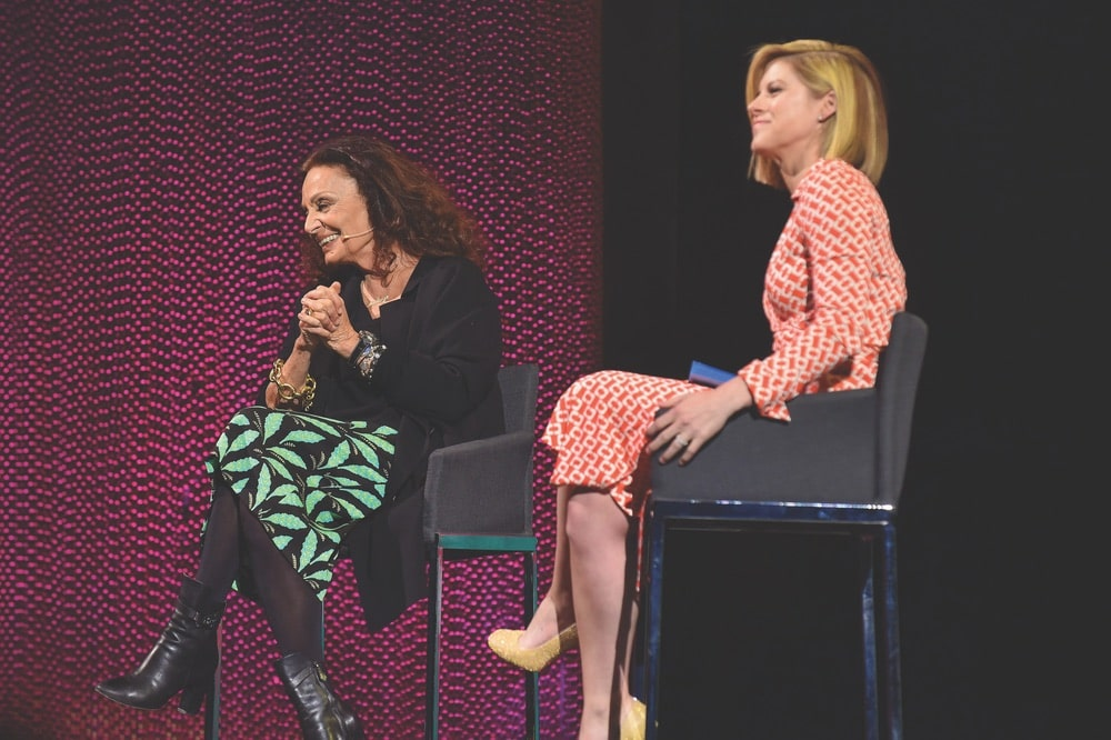 Tina Brown, Tina Brown Live Media, Women in the World, Diane von Furstenberg, Kate Bolduan