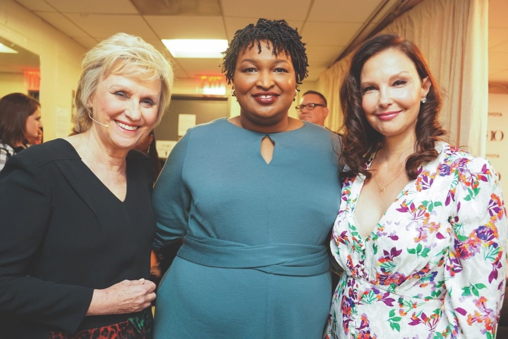 Stacey Abrams, Ashley Judd, Tina Brown, Tina Brown, Tina Brown Live Media, Women in the World