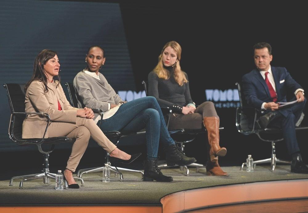 Lynsey Addario, Nima Elbagir, Alexandra Ulmer, Tina Brown, Tina Brown Live Media, Women in the World