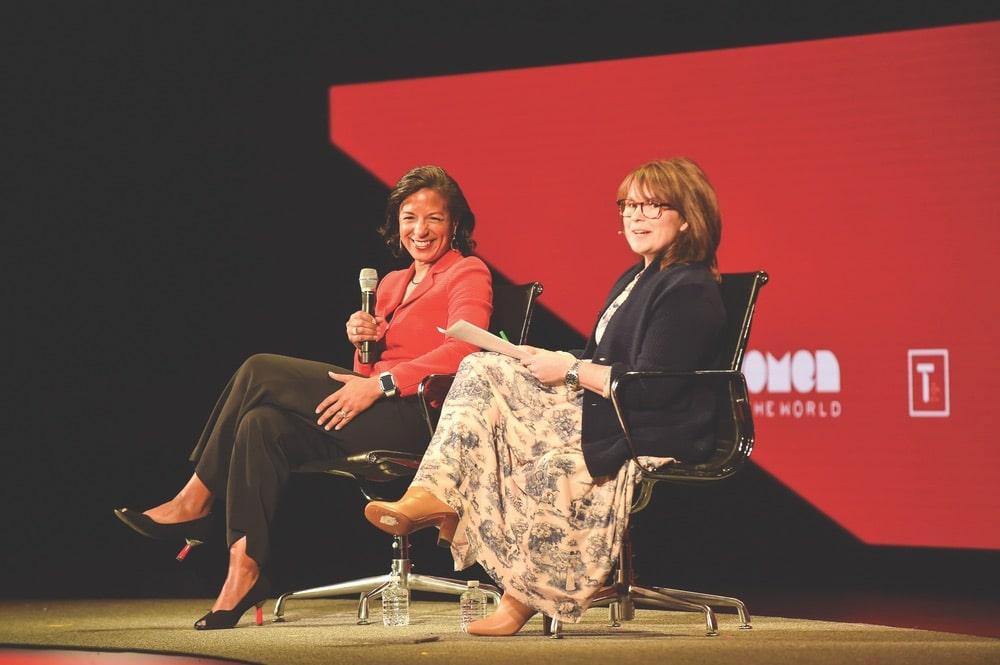 Susan Rice, Alyssa Mastromonaco, Tina Brown, Tina Brown Live Media, Women in the World