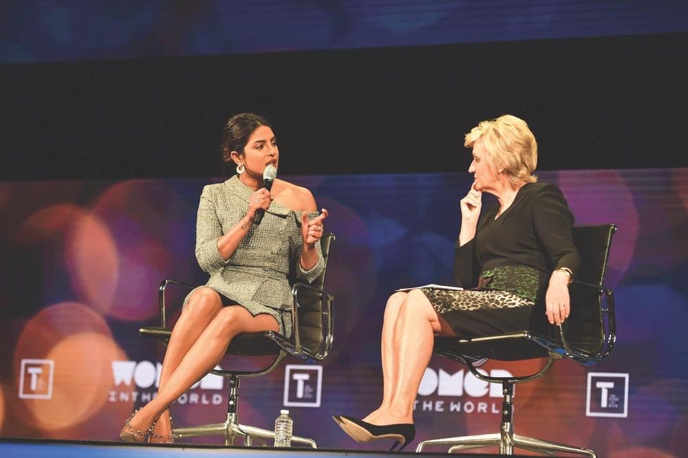 Priyanka Chopra Jonas, Tina Brown, Tina Brown Live Media, Women in the World