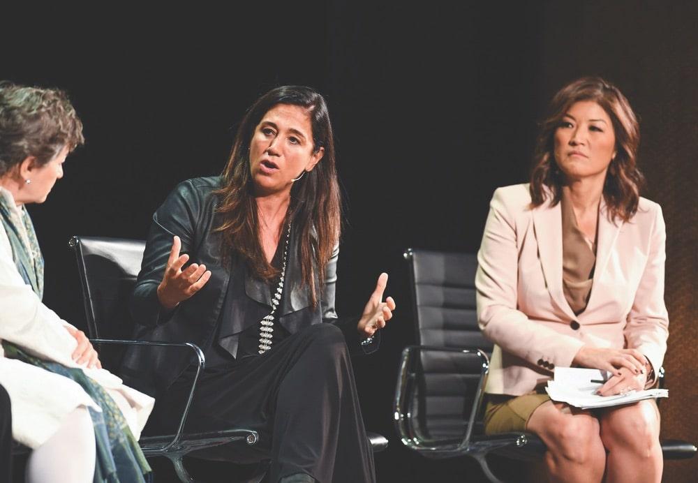 Cristina Mittermeier, Juju Chang, Tina Brown, Tina Brown Live Media, Women in the World