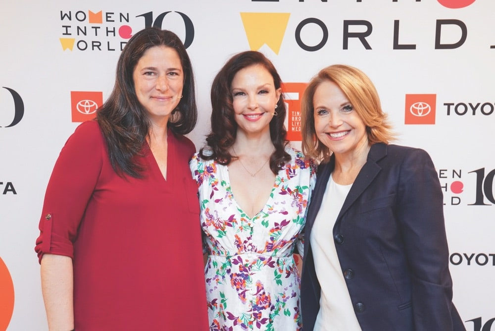 Rebecca Traister, Ashley Judd, Katie Couric, Tina Brown, Tina Brown Live Media, Women in the World