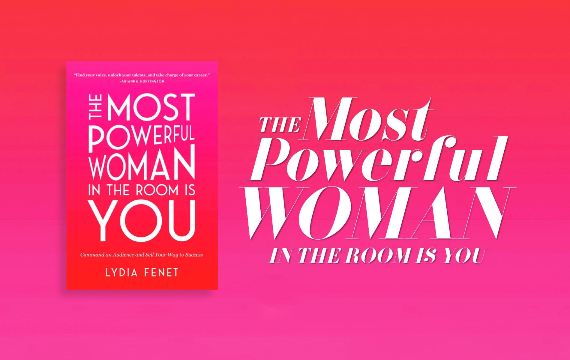 The Most Powerful Women in the Room Is You, Lydia Fenet, VIE Book Club