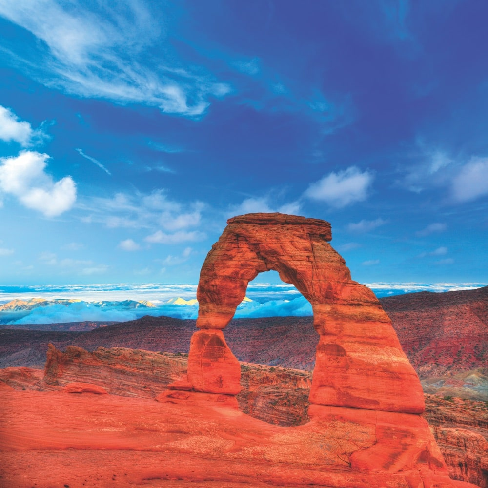 The aptly named Arches National Park offers some of Utah's most incredible views.