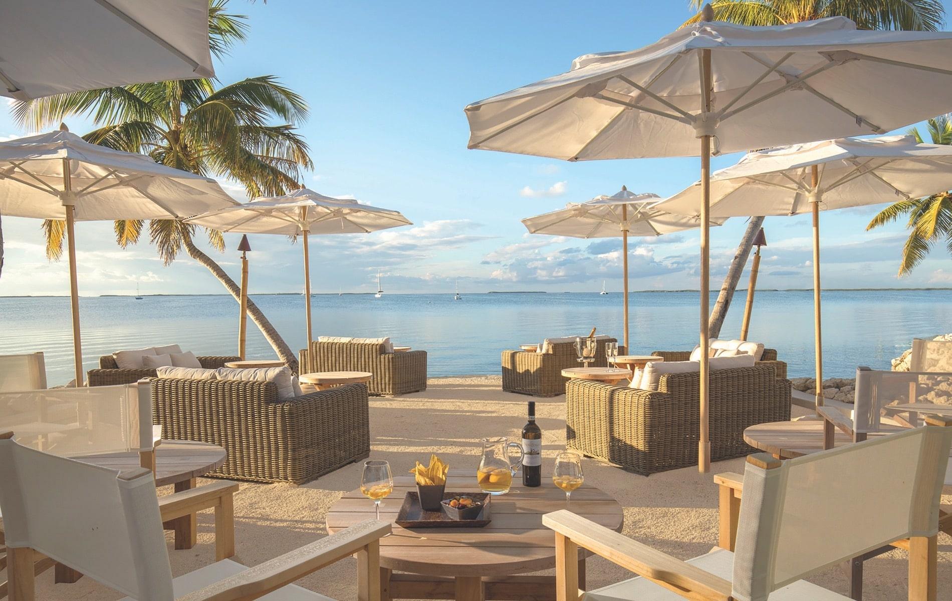 VIE Magazine January 2020 Travel Issue Au Revoir Department Page, Key Largo Resort