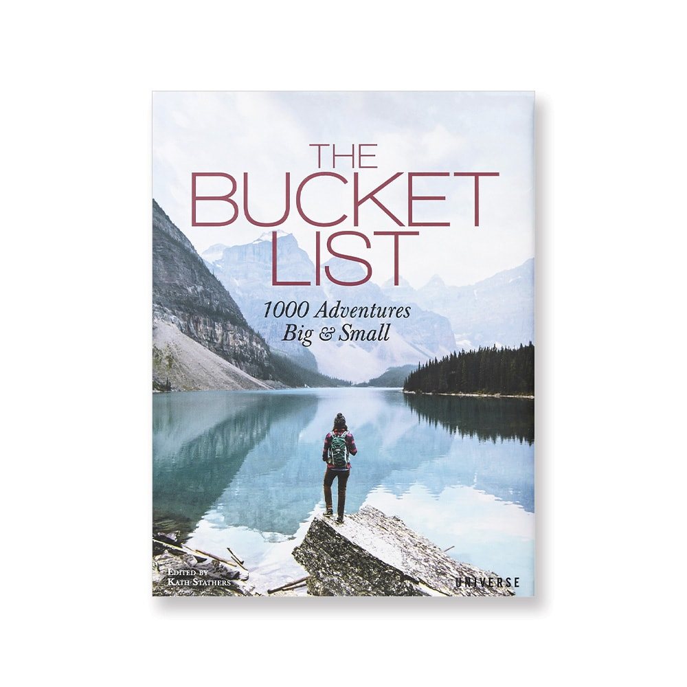 The Bucket List Hardcover, Grand Boulevard, Howard Group, Anthropologie