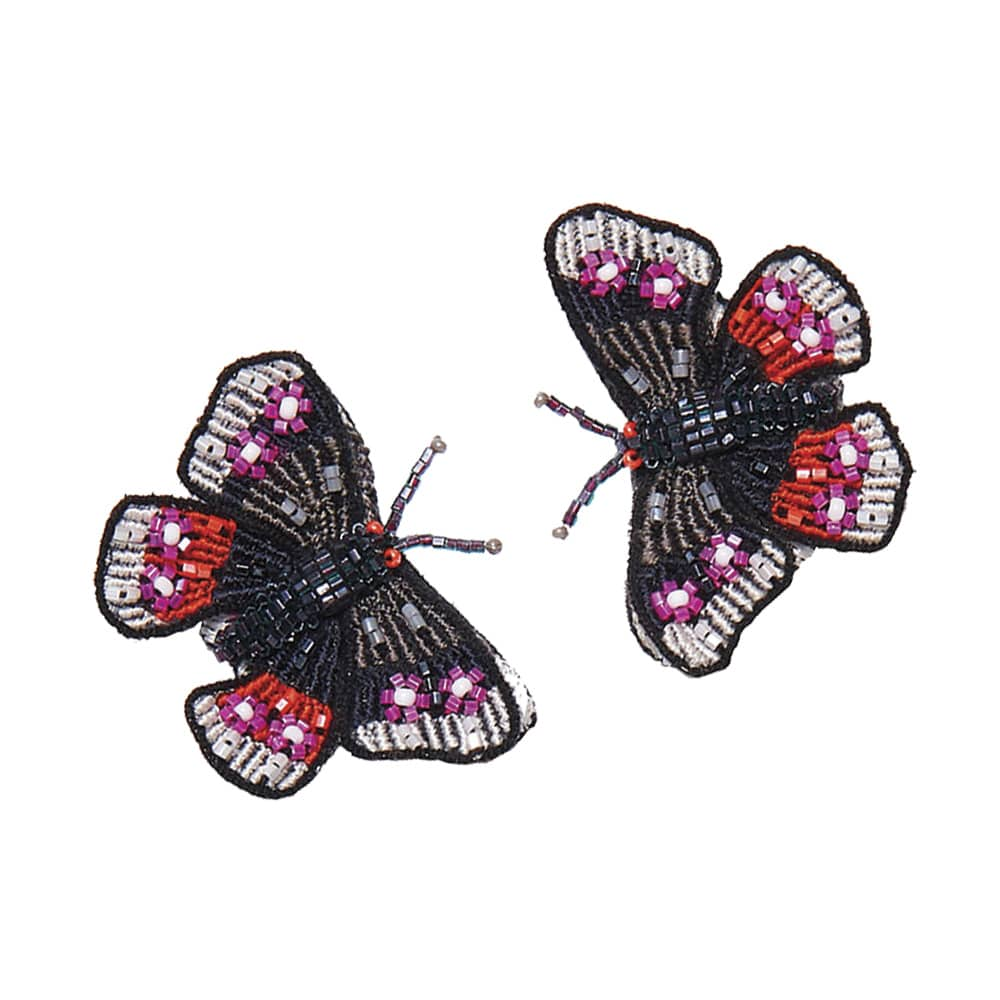 Mignonne Gavigan Butterfly Stud Earrings, Grand Boulevard, Howard Group, Hemline