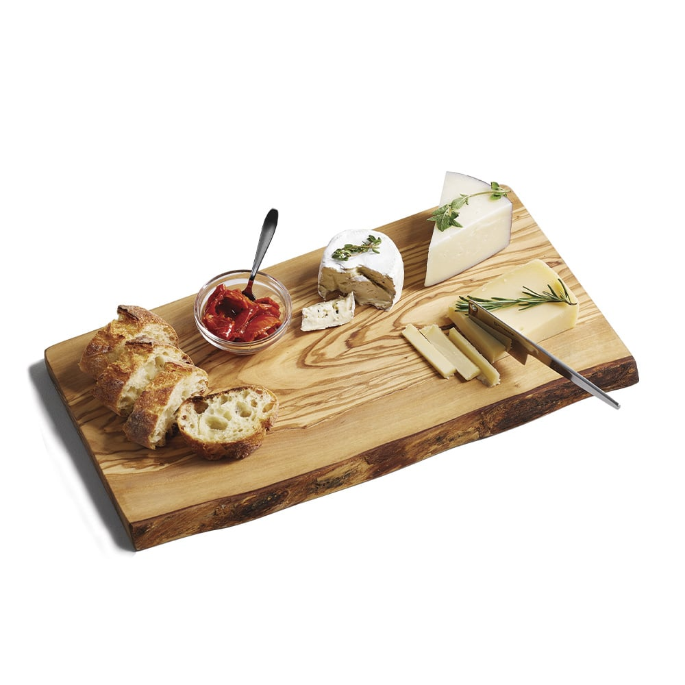 Olive Wood Rustic Edge Cheese Board, Grand Boulevard, Howard Group, Pottery Barn