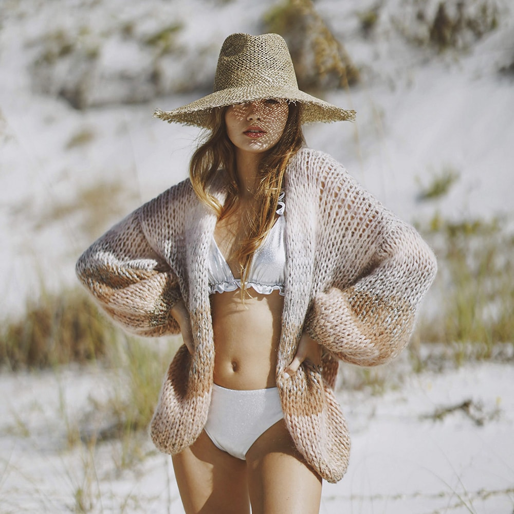 Maiami Ombré Big Cardigan in Multi, Grand Boulevard, Howard Group, Ophelia Swimwear