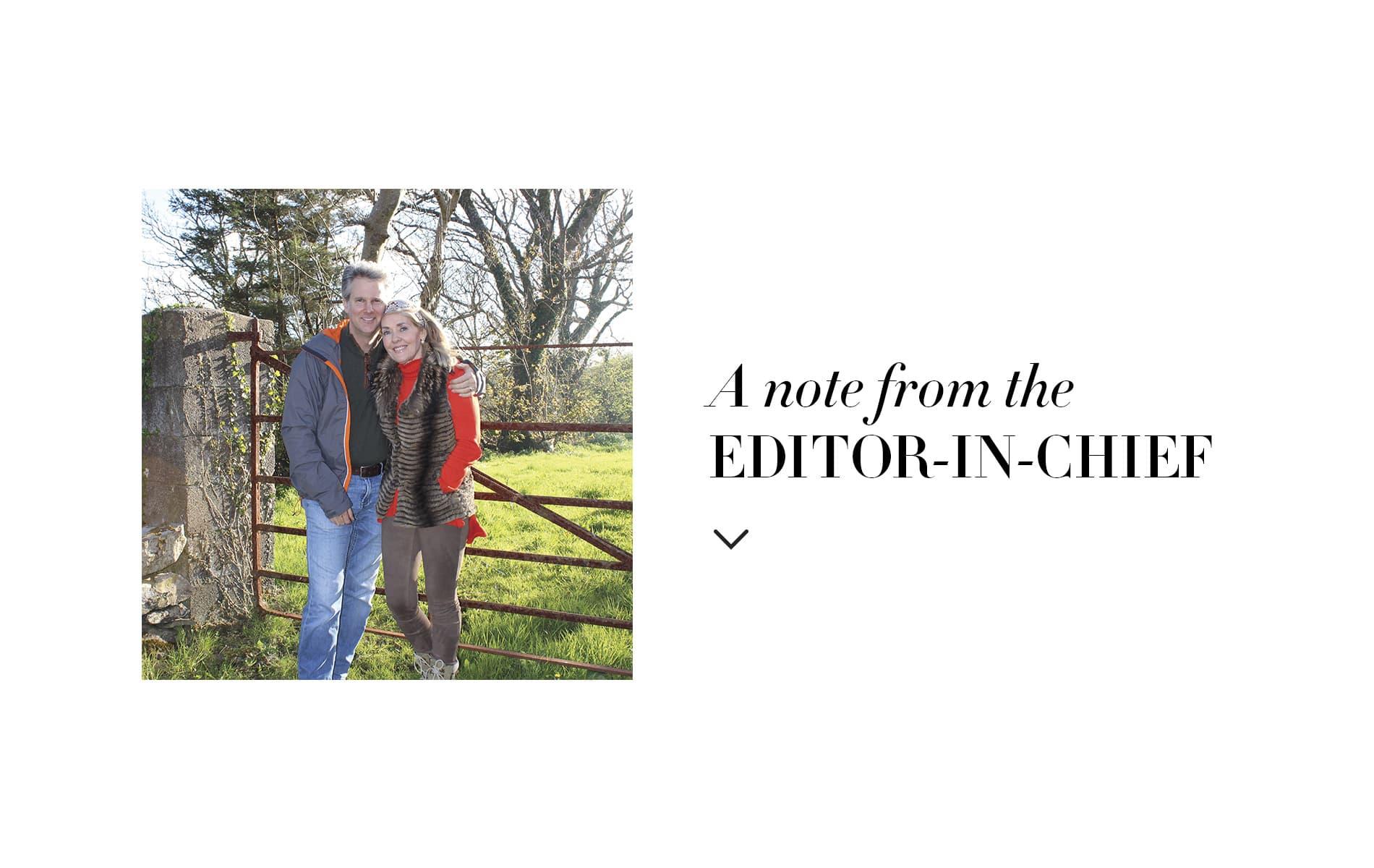 VIE Magazine January 2020 Travel Issue, Lisa Marie Burwell, Lisa Burwell Editor in Chief Note