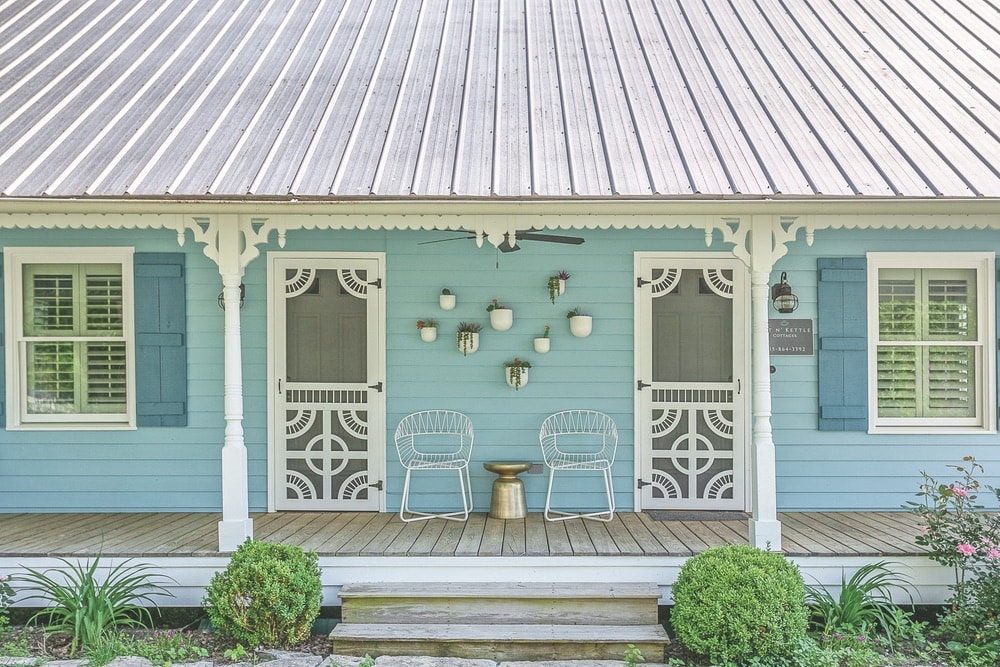 The Pot N' Kettle Cottages offer charming accommodations with four distinct rental homes in Leiper's Fork.