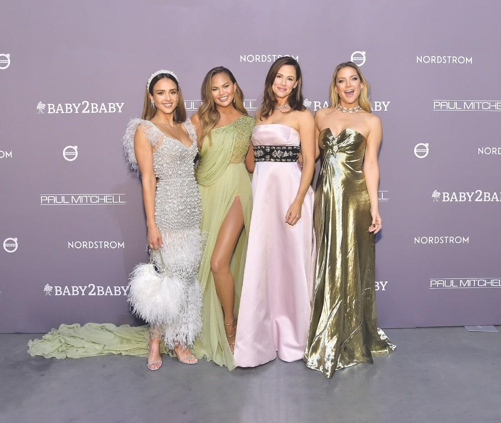 Jessica Alba, Chrissy Teigen, Jennifer Garner, Kate Hudson, Baby2Baby Gala, Volvo, Paul Mitchell, Nordstrom