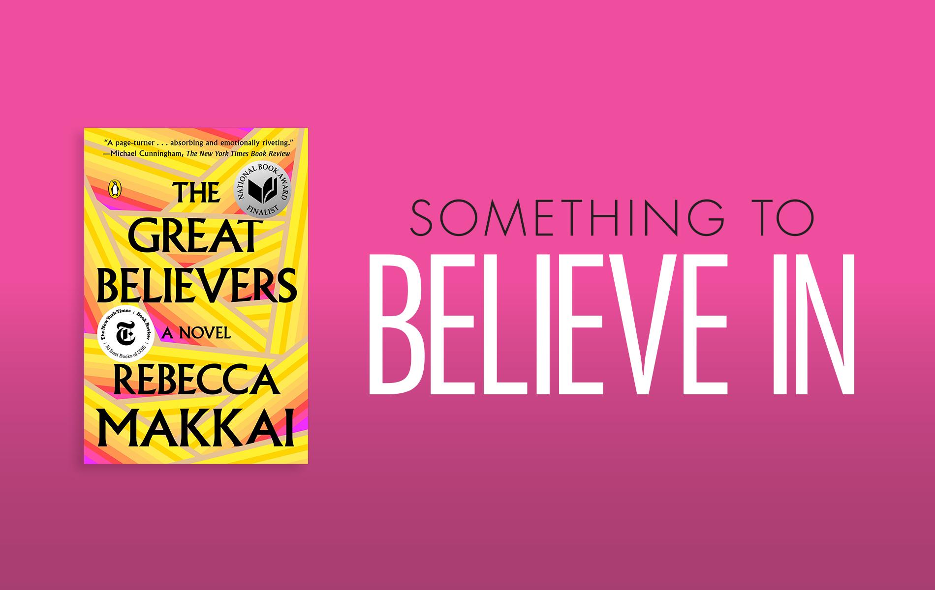VIE Book Club The Readers Corner, The Great Believers by Rebecca Makkai
