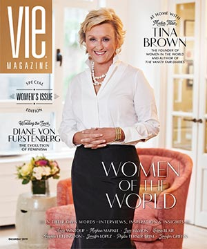 VIE Magazine - Women's Issue - December 2019 - Tina Brown Cover