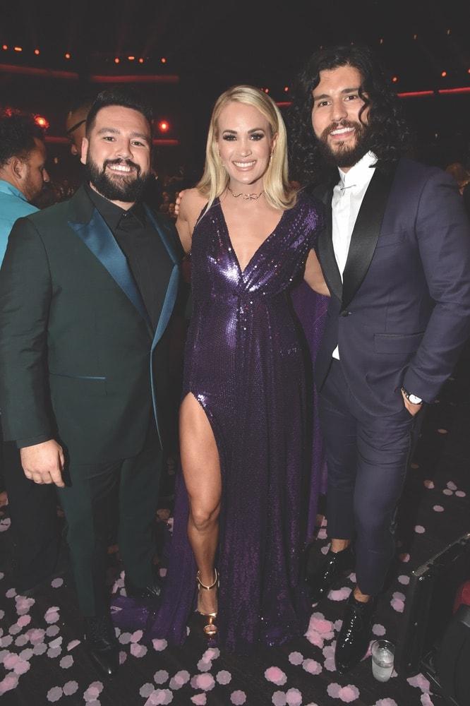 AMA Awards, 2019 AMA Awards, American Music Awards, Forty-Seventh Annual American Music Awards, The Microsoft Theater, Shay Mooney, Carrie Underwood, Dan Smyers