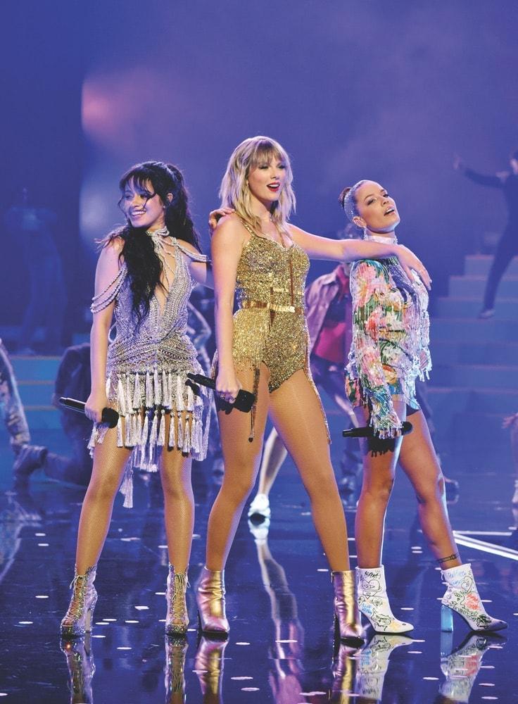 AMA Awards, 2019 AMA Awards, American Music Awards, Forty-Seventh Annual American Music Awards, The Microsoft Theater, Camila Cabello, Taylor Swift, and Halsey
