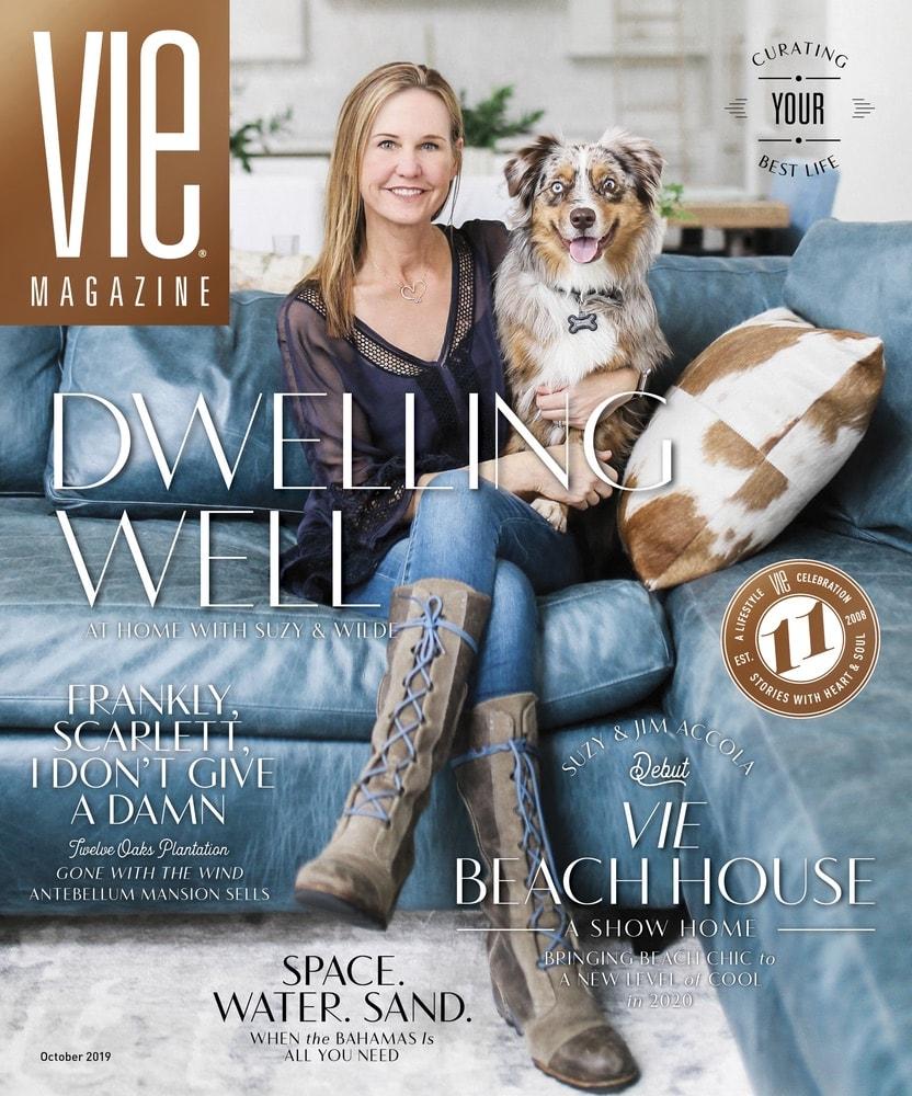 VIE Magazine October 2019 Home & Garden Issue, Q-Tile, VIE Beach House