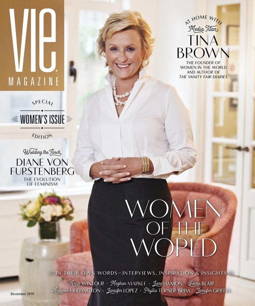 VIE Magazine December 2019 Women's Issue, Tina Brown, Women in the World