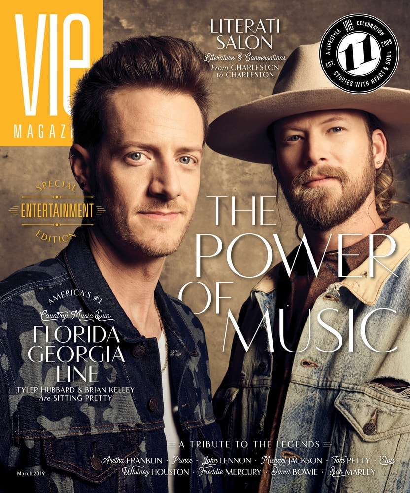 VIE Magazine March 2019 Special Entertainment Issue, Florida Georgia Line, Tyler Hubbard, Brian Kelley